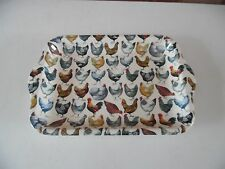 Emma Bridgewater Melamine Small Handled Hens Serving Tray -  New