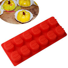 Halloween Pumpkin Silicone Baking Mold Cake Fondant Chocolate Candy Molds