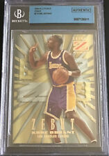 Kobe Bryant 1996-97 Z-Force Zebut Z-Peat rookie #3 Authentic Lakers HOF KOBE