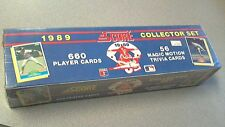 1989 Score Baseball Factory Set - 660 Player cards,56 Magic Motion