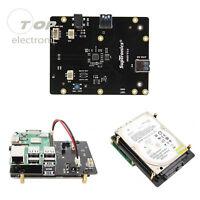 X820 2.5in SATA HDD/SSD Storage Expansion Board for Raspberry Pi 3 B/2B/B+