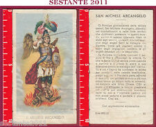 1105 SANTINO HOLY CARD S. MICHELE ARCANGELO ED G MI ED. G MI. 31 LOGO C BASSA CO