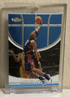 2005-06 TOPPS FINEST # 85 LEBRON JAMES IN BRAND NEW ONE-TOUCH MAGNETIC CASE!