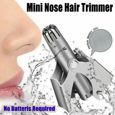 Stainless Steel Nose Shaving Hair Removal Travel Clipper Trimmer Manual Device