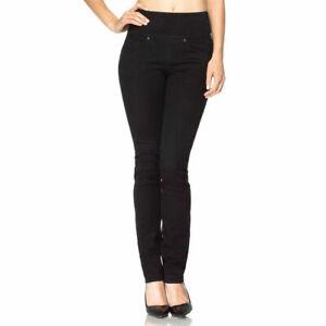 SPANX The Signature High Waist Straight Leg Jeans -  Black UK 6 W25 L32 - BNWT