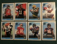 2018 Donruss Optic Football Rated Rookies 8 Card Lot!!