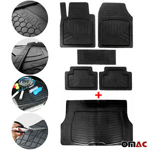 For Nissan Waterproof Rubber 3D Molded Fit Floor Mat&Cargo Liner Protection SET