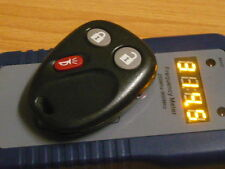 OEM  CADILLAC GM  HUMMER  Alarm Remote Control Keyless Entry Transmitter KEY FOB