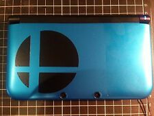√ 2x BLACK SUPER SMASH BROS SMASH BALL DECAL FOR 3DS XL GAME CONSOLE √