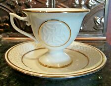 Lenox Irish Teacup Votive Cup & Saucer Shaped Votive Candleholder -Free Shipping