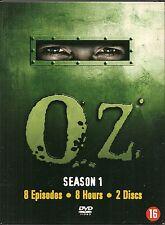COFFRET DIGIPACK 2 DVD ZONE 2--SERIE TV--OZ--INTEGRALE SAISON 1--8 EPISODES