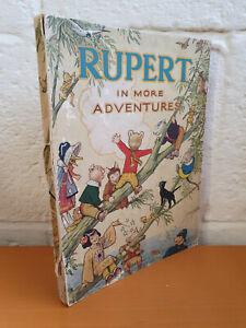 RUPERT ANNUAL 1944 - original edition - gd