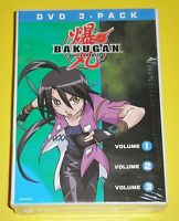 Cartoon Network DVD Lot - Bakugan Battle Brawlers V1, V2 & V3 DVD 3-Pack (New)
