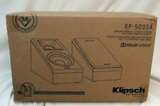 Klipsch Reference RP-500SA Dolby Atmos speakers (Piano Black)