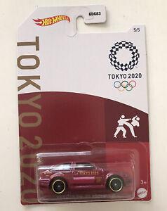 HOT WHEELS Tokyo 2020 Olympics #5 - Toyota AE86 Corolla (Red) New & Unopened