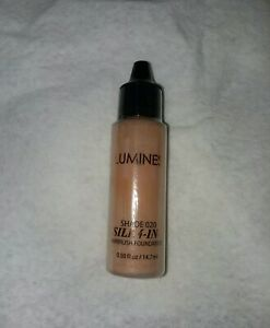 LUMINESS Silk 4-in-1 Shade 2 020 Air Airbrush Makeup Foundation .50 oz Sealed
