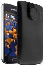 mumbi Ledertasche für Samsung Galaxy S5 Mini Tasche Hülle Etui Case Cover Schutz
