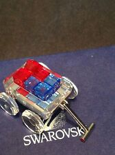 SWAROVSKI RETIRED TOY WAGON 289647
