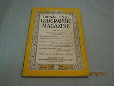 VINTAGE NATIONAL GEOGRAPHIC May 1959 GIANT AMAZON INSECTS Galapagos IRIS GARDEN