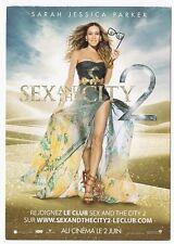 SEX AND THE CITY 2  carte postale publicitaire SARAH JESSICA PARKER