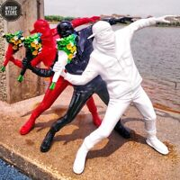 England Street Art Banksy Sculpture Statue The Flower Thrower Bomber Figure Deco
