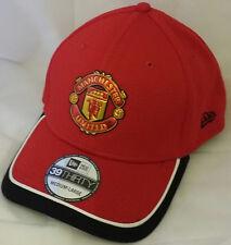 NWT NEW ERA Manchester United FC England soccer 39THIRTY Medium-Large cap hat