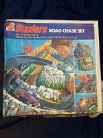Mattel Hot Wheels Sizzlers Road Chase Set Vintage 1973
