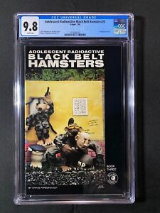 Adolescent Radioactive Black Belt Hamsters #3 CGC 9.8 (1986) - RARE 1 of 2 9.8!