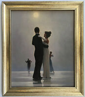 Dance Me to End of Love by Jack Vettriano Framed Canvas Effect Print 51cm x 44cm
