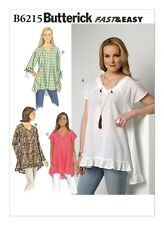 a2c1a2f3 Butterick Sewing Pattern B6215 6215 Misses 16-26 Easy Raglan Sleeve Tops  Shirts