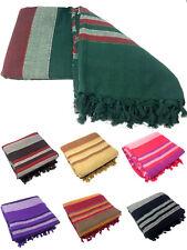 Tagesdecke Nepal Bettüberwurf Baumwolle 220x250cm XXL Indien Webdecke Wohndecke