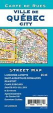 Street Map of Quebec City, Quebec, Canada, by GMJ Maps