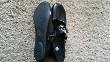 Brand new black shoes  size 4