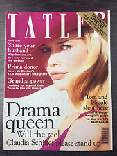 Tatler Magazine Feat Claudia Schiffer: March 1998