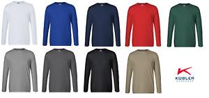 Longsleeve Pullover Arbeitsshirt KÜBLER Baumwolle/Polyester 190 g/m² bis Gr. 4XL