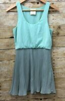 Urban Outfitters Pins And Needles Blue and Gray Sleeveless Woman's Dress Sz S