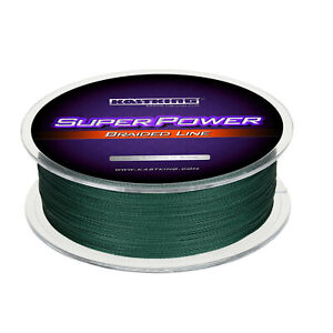 KastKing SuperPower Braided Line 500M 15lbs Braid Fishing Line Green Line