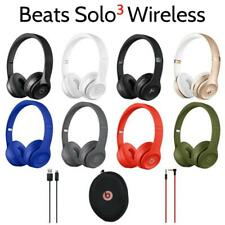 Genuine Beats by Dr. Dre Solo 3.0 Wireless On-Ear Headphones with Microphone