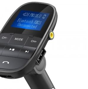 Nulaxy FM Transmitter Bluetooth  Modulator Handsfree Car MP3 Player Support USB