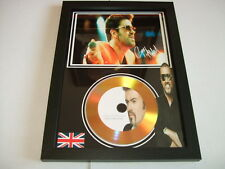 George Michael   SIGNED GOLD CD  DISC   1