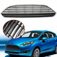Front Bumper Center Grille Panel Radiator Chrome For Ford Fiesta 2013-16