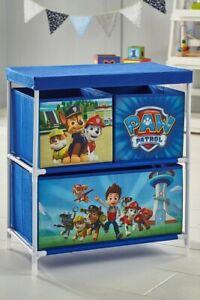 Paw Patrol 3-Drawer Kids Storage
