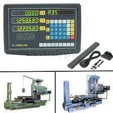 3 Axis Digital Readout Grating Milling Machine Electronic Lathe 3 Linear Durable
