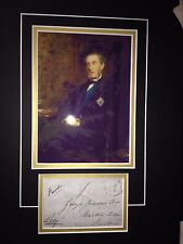 7th EARL OF SHAFTESBURY - M.P. AND SOCIAL REFORMER - SIGNED PHOTO DISPLAY