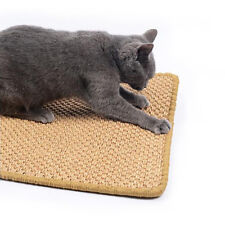 Pet Cat Scratching Board Mat Sisal Mat Supply Pad Grinding Claw Eatting