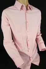Banana Republic Men Pink Button Down Dress Classic Work Shirt Long Sleeves Large