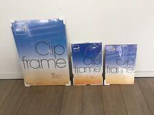 Kenro Clip Frame job lot of three