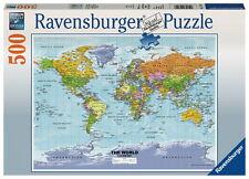 500 Teile Ravensburger Puzzle Weltkarte, politisch 14755