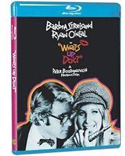 Blu Ray WHATS UP DOC? Ryan O'Neal, Barbra Streisand. Region free. New sealed.