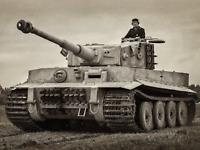WW2 Photo WWII  German Tiger I Pzkpfw. VI Panzer  World War Two Wehrmacht / 4167